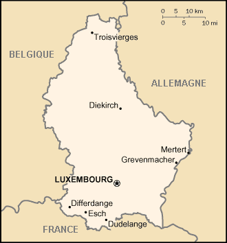 Luxembourg Atlas